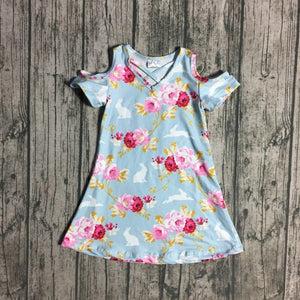 Paisley Bunny Floral Dress