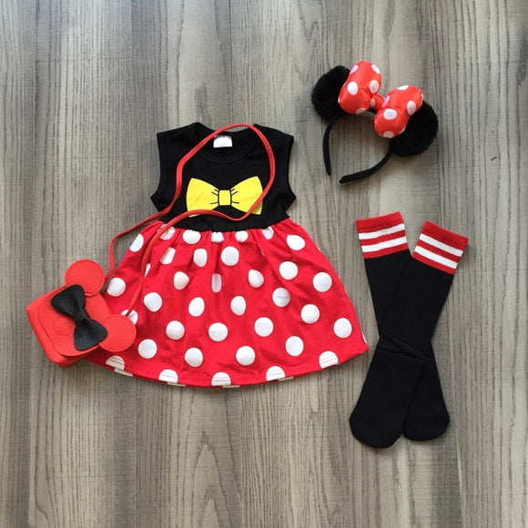 Mickey Polka Dot Dress