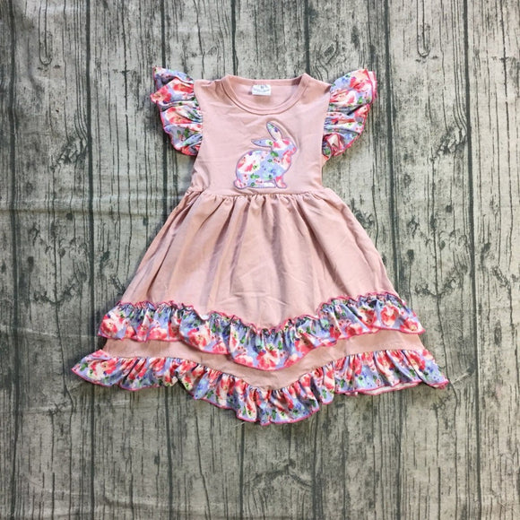 Floral Blush Bunny Dress