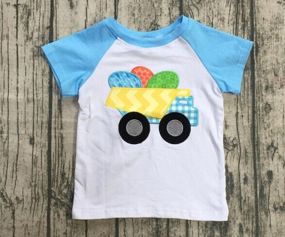 Boy's Truck with Eggs Shirt