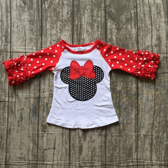 Polka Dot Minnie Top