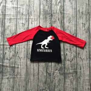 """Loveosaurus"" Long Sleeve Top"