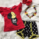 Minnie Polka Dot Best Friends Short Outfit