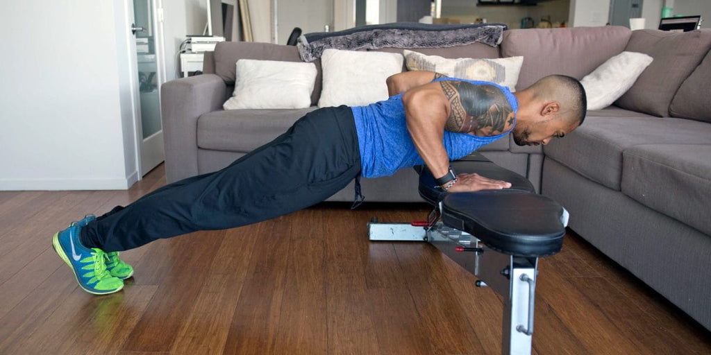 Comment faire le développer couché Push-Up ?