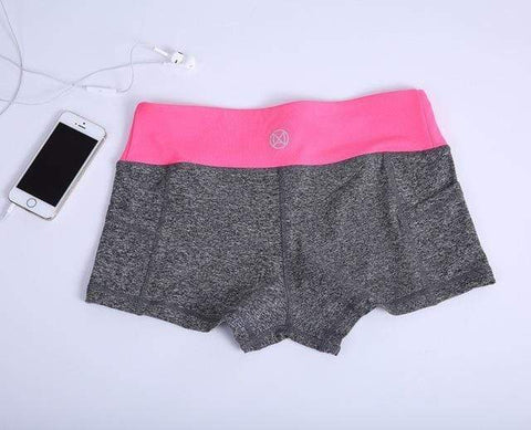 Victius Pro Rose / L Short de Sport 16926326-01-pink-add-gray-l