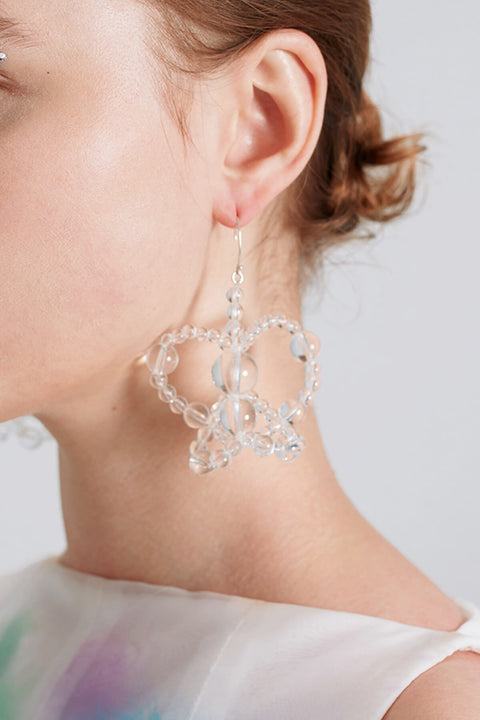 Bubble Butterfly Earring