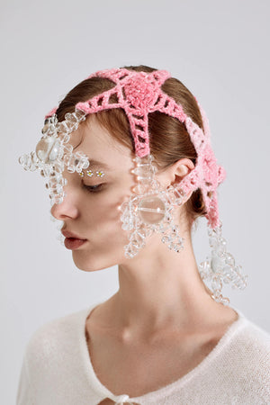Bubble Starfish Crochet Headpiece