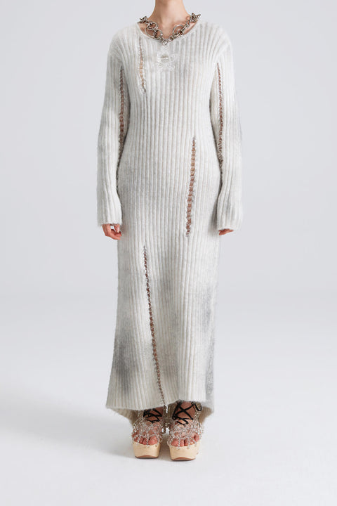 Long Sleeve Knit Dress