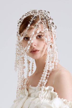 Bubble and Pearl Headpiece