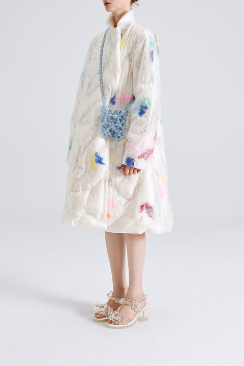 Feather Puff Coat
