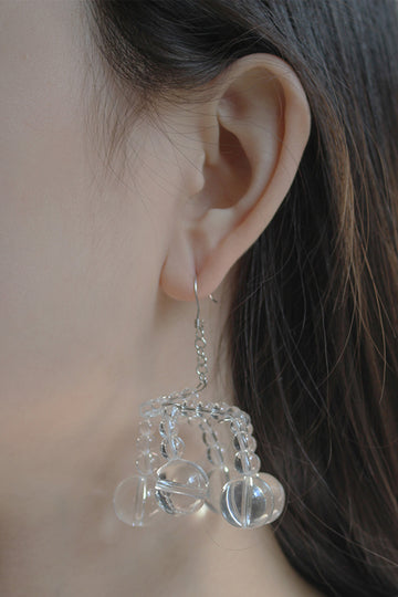 BUBBLE CHANDELIER EARRING
