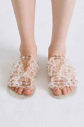 Bubble Triangles Sandal