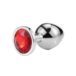 plug diamant rouge