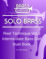 Reel Technique Volume 3 Intermediate Bass Clef Duet Book