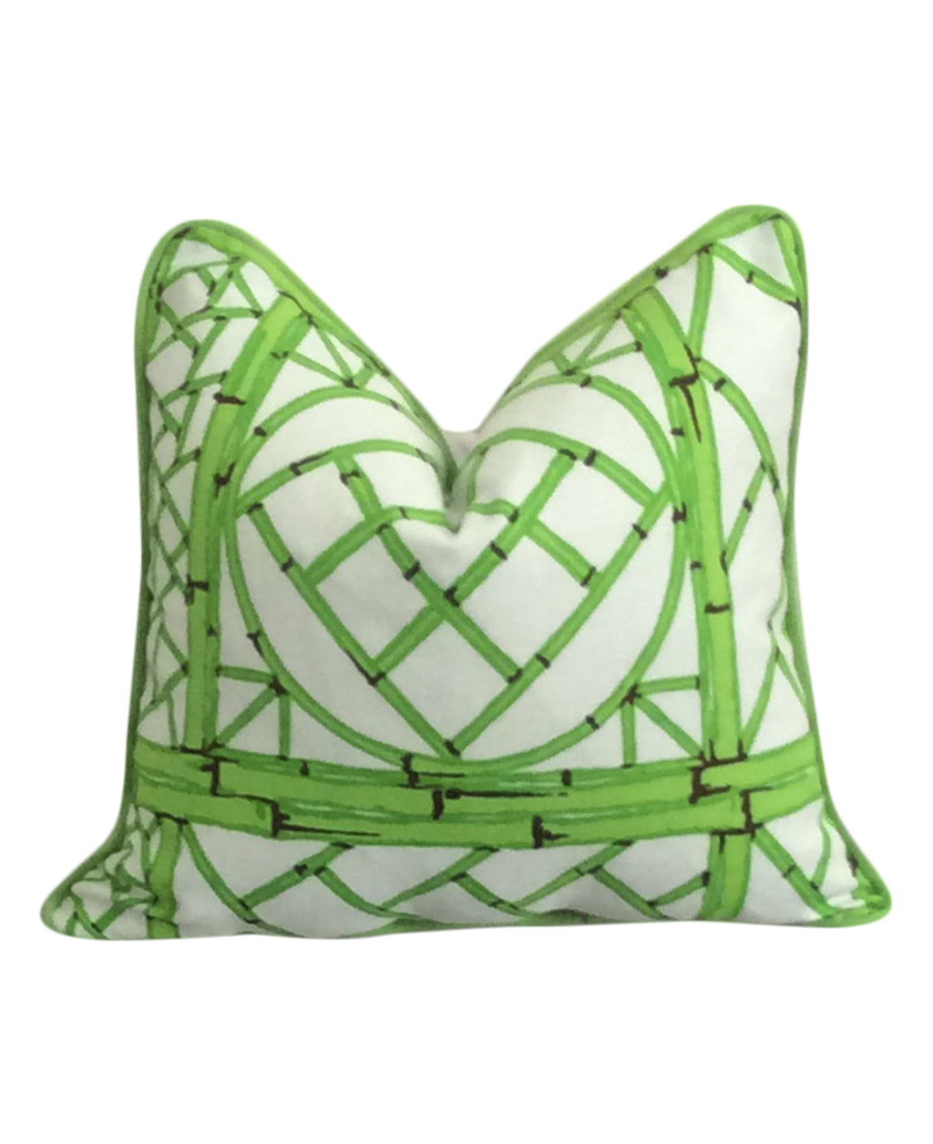 Bob Collins and Sons Chinese Lattice Fabric Pillow