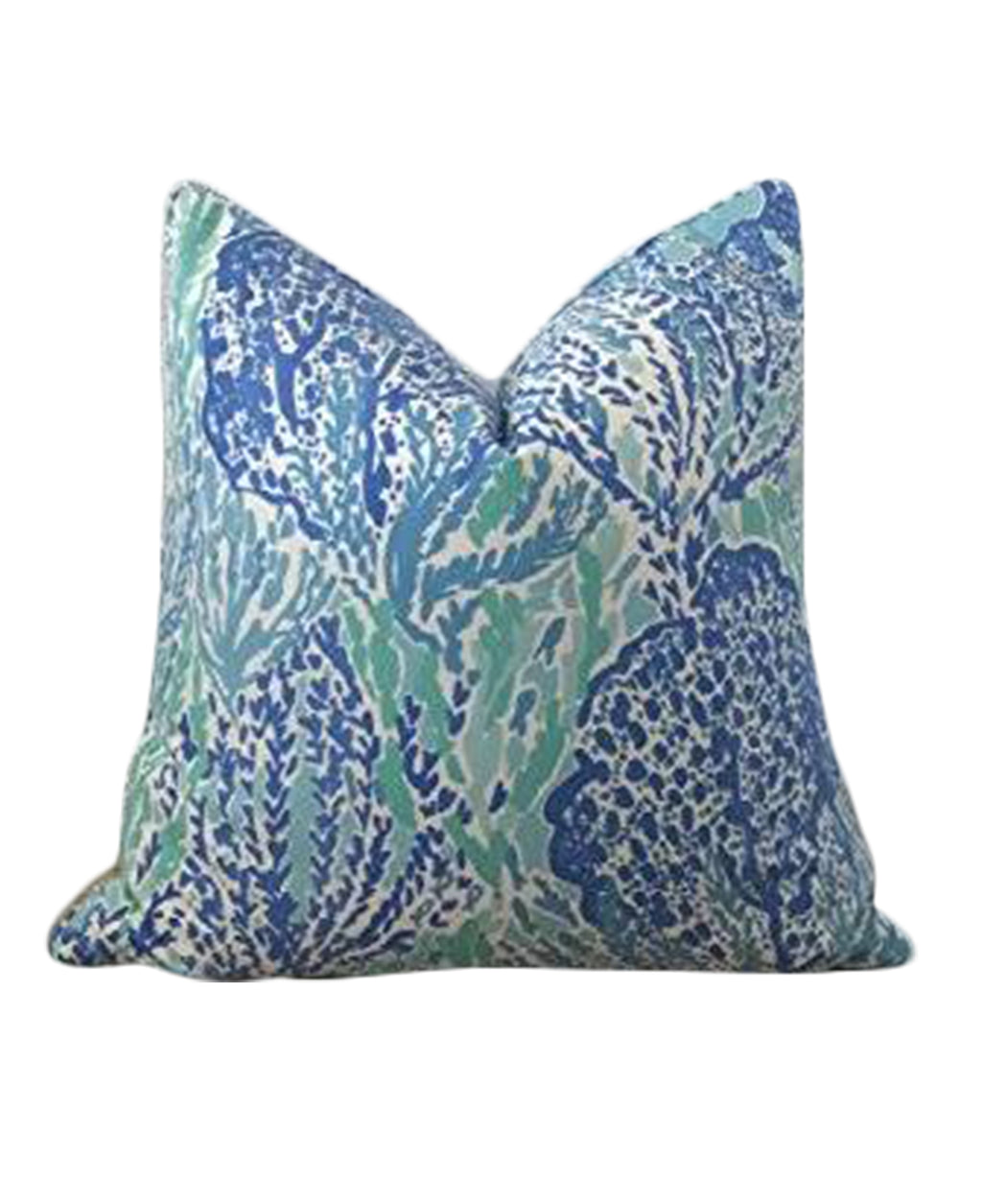 Lilly Pulitzer Coral Reef Let's Cha Cha fabric pillow cover Lilly and Co.