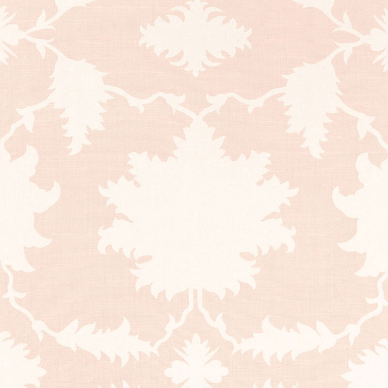 Schumacher Garden of Persia Blush Fabric
