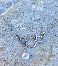 Load image into Gallery viewer, Moonstone Bubble Necklace