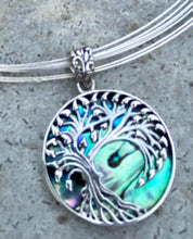 Load image into Gallery viewer, Abalone Pendant Choker