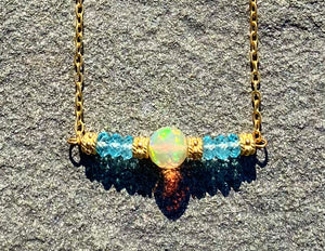 Opal Detail Necklace