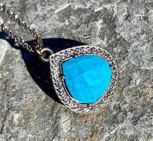 Load image into Gallery viewer, Blue Flame Necklace