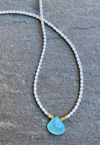 Opal Pearl Necklace