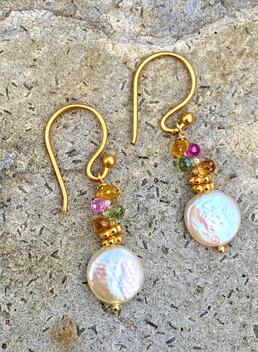 Candy Drop Sapphire Earring