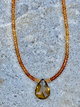 Load image into Gallery viewer, Citrine dream Necklace