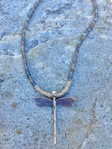 Crazy for Dragonflies Necklace