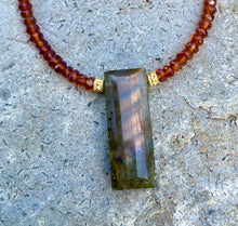 Load image into Gallery viewer, Westside Labradorite Necklace