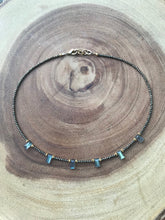 Load image into Gallery viewer, Deco Pyrite and Labradorite choker