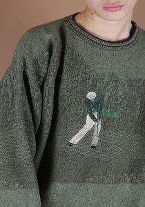 90s Golf Sweater