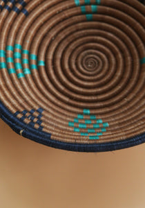 African braided Basket