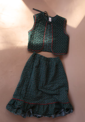 Skirt with Vest