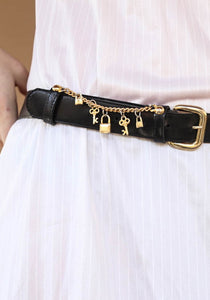 80´s Belt with Pendants