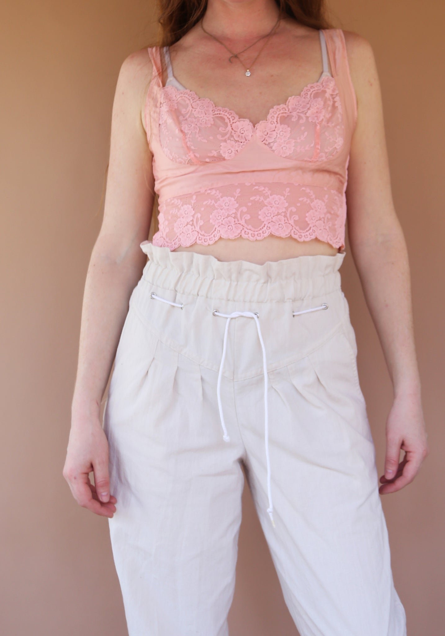 Oat high waisted Pants