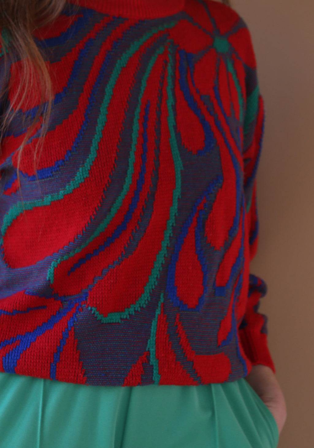 70´s Floral Pulli