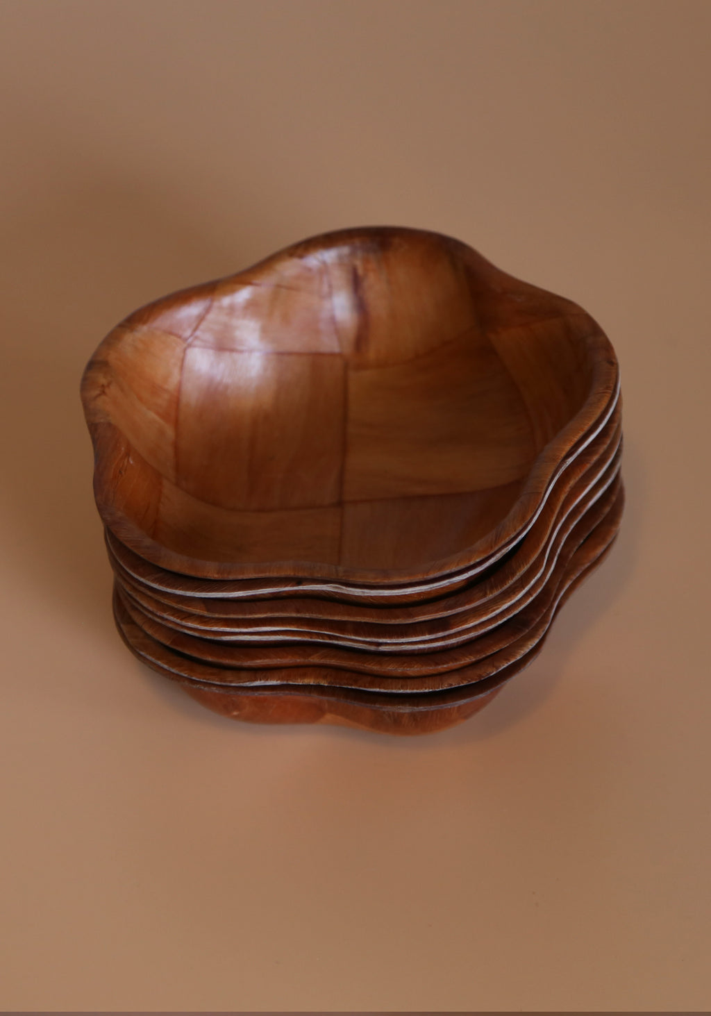 Set of Wood Bowls