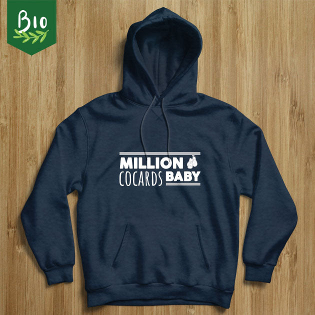 "Sweat sports de combat ""Million cocards baby"""