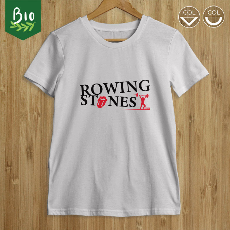 "T-shirt homme musculation ""Rowing Stones"""