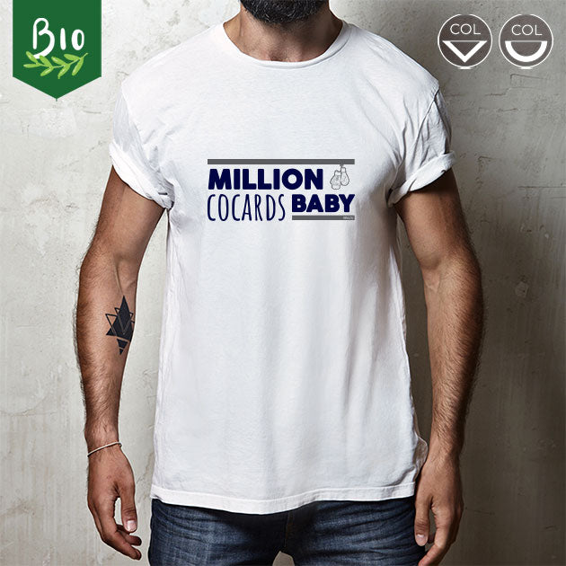 "T-shirt homme sports de combat ""Million cocards baby"""