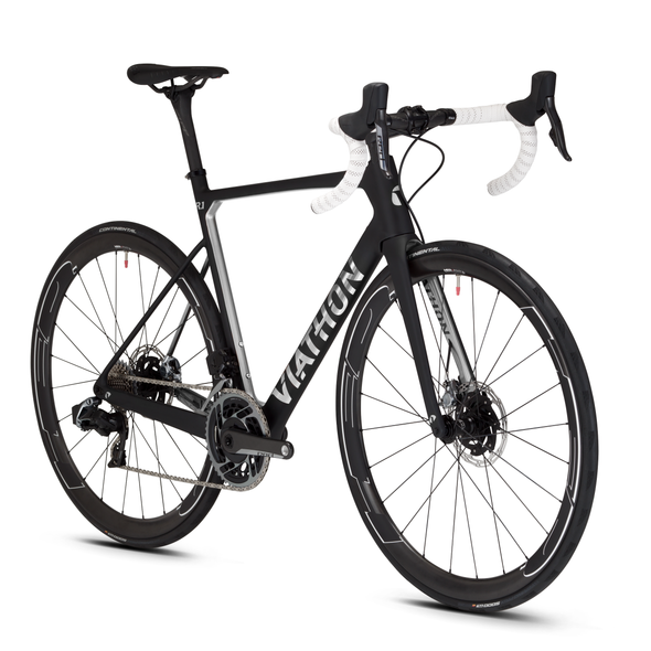 Viathon Bicycles R.1 road bike with SRAM RED eTap AXS wireless groupset