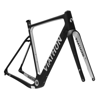 Viathon Bicycles G.1 Frameset silver