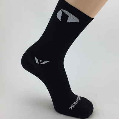 Cycling Socks | Viathon - Swiftwick VISION Seven - Black