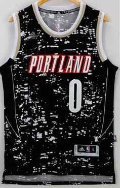 774baa210 ... ireland men 0 damian lillard jersey city black portland trail blazers  swingman 41074 3d6f0