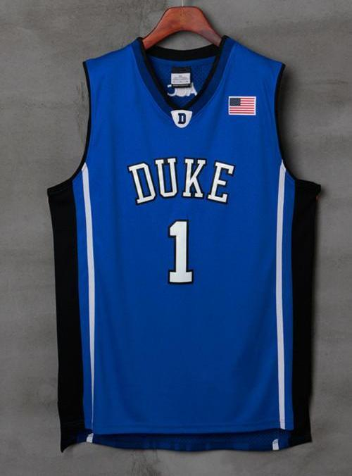 ... reduced men 1 kyrie irving jersey blue color duke blue devils swingman  jersey 7952e 61e17 26d60505d