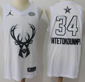 d73e6bea4 Men 2018 All Star 34 Giannis Antetokounmpo Jersey Milwaukee Bucks ...