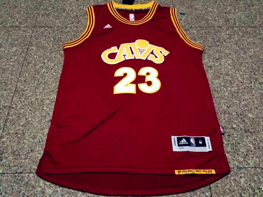 competitive price 98462 b5e15 Men CAVS 23 Lebron James Jersey Red Cleveland Cavaliers Jersey Swingman