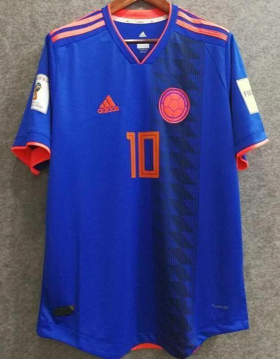 uk availability 89771 b9a77 2018 Men Colombia Jersey #10 James Soccer Jersey World Cup Jersey Player