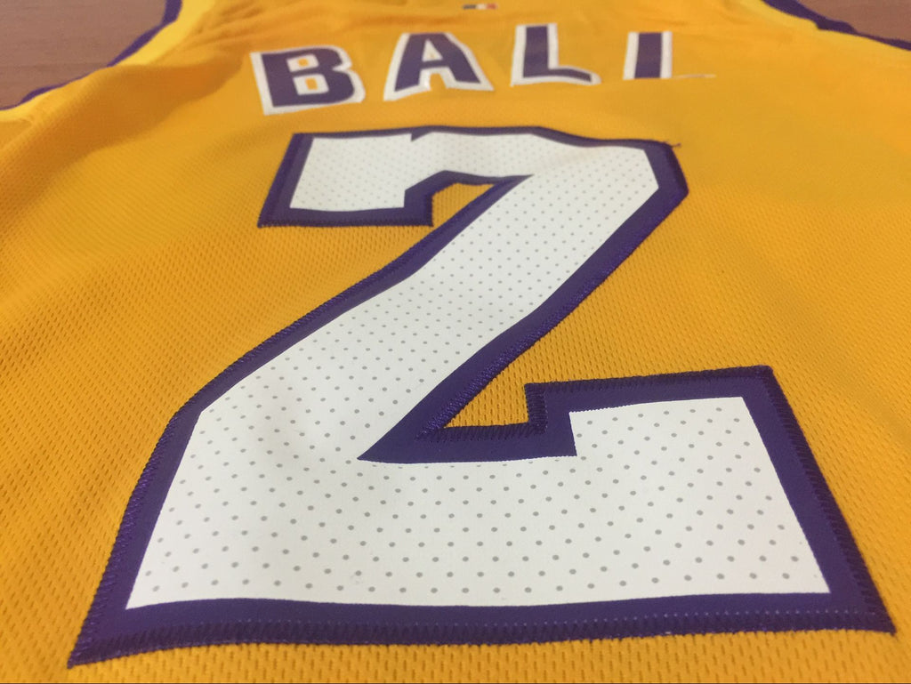 4908fc6d8d34 ... Men 2 Lonzo Ball Jersey Yellow Los Angeles Lakers Jersey Swingman  Fanatics ...
